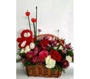Love You �Beary� Much in Hanover PA, Country Manor Florist