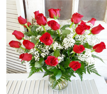 Two Dozen Red Roses in Greensboro NC, Sedgefield Florist & Gifts, Inc.