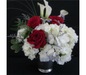 Red & White Romance in Farmington CT, Haworth's Flowers & Gifts, LLC.
