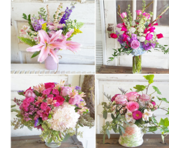 For the Love of Pink in Greensboro NC, Sedgefield Florist & Gifts, Inc.