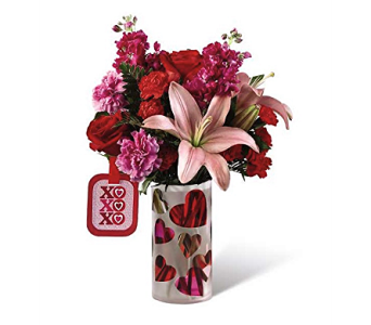 Love You XO Bouquet in Kokomo IN, Bowden Flowers & Gifts