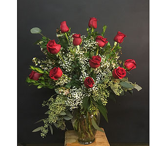Red Classic Dozen in Tempe AZ, Bobbie's Flowers