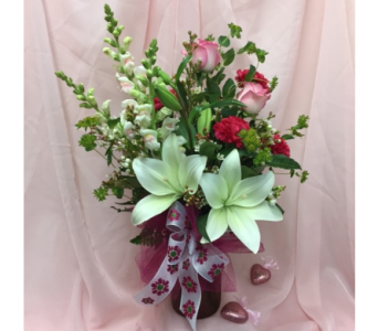 Down South Love Mason Style in Dripping Springs TX, Flowers & Gifts by Dan Tay's, Inc.