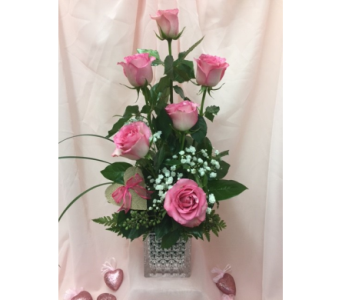 Pink Garden of Passion in Dripping Springs TX, Flowers & Gifts by Dan Tay's, Inc.