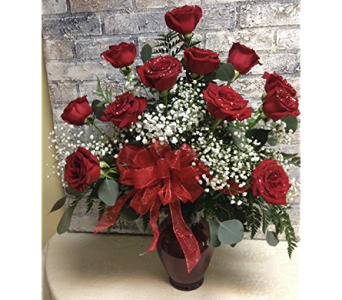 Glittered Roses in Sanford FL, Sanford Flower Shop, Inc.