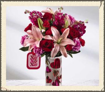 The Ftd Love You Xo Bouquet By Hallmark In Alpharetta Ga Rogers Florist