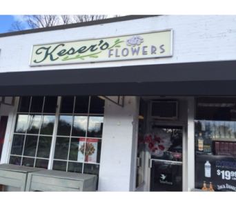Our Shop in Glastonbury CT, Keser's Flowers
