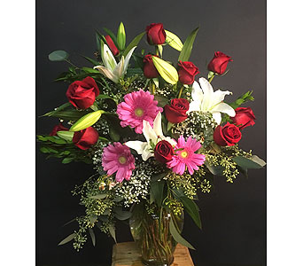 Dozen Roses Premium/WOW Red in Tempe AZ, Bobbie's Flowers