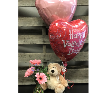 Bear Hugs in Lubbock TX, House of Flowers