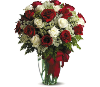 Love's Divine Bouquet 24 Long Stemmed Roses in Oklahoma City OK, Array of Flowers & Gifts