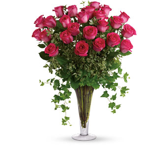 18 Pink Long Stemmed Roses in Sioux Lookout ON, Cheers! Gifts, Baskets, Balloons & Flowers