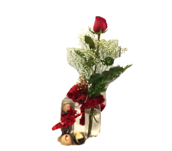 Single Rose Trio (no Vase) in Ottawa ON, The Fresh Flower Company