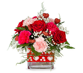 Be My Valentine in Truro NS, Jean's Flowers And Gifts
