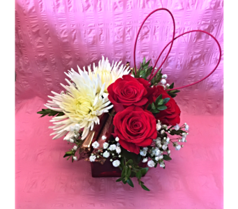 Love You Bouquet in Caribou ME, Noyes Florist & Greenhouse