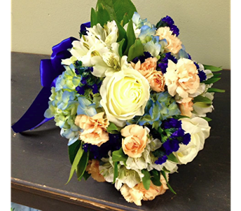 Truer than True, Bluer than Blue Bouquet in Fairless Hills PA, Flowers By Jennie-Lynne