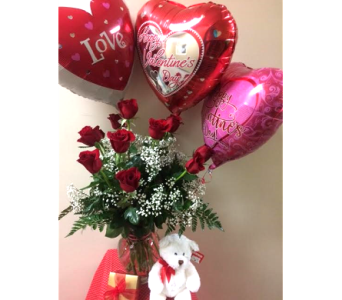 Love Bundle in Big Rapids, Cadillac, Reed City and Canadian Lakes MI, Patterson's Flowers, Inc.