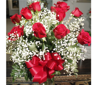 Nance's Exclusive Traditional Dozen Roses Bouquet in New Albany IN, Nance Floral Shoppe, Inc.
