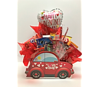 Love Bug Snack Basket in Metropolis IL, Creations The Florist
