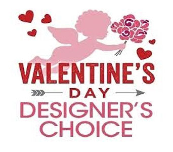 Valentitne's Day Designer's Choice in Sudbury ON, Xpressions Flowers & More