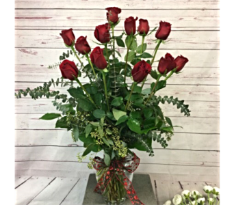 One Dozen Long Stem Roses in Wellington FL, Wellington Florist