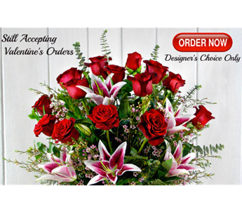 Valentine's Day Designer Choice in Indianapolis IN, Steve's Flowers and Gifts