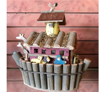 Noah's Ark Bird House in Huntington WV, Archer's Flowers and Gallery