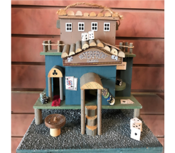 Waterfront Casino Bird House in Huntington WV, Archer's Flowers and Gallery