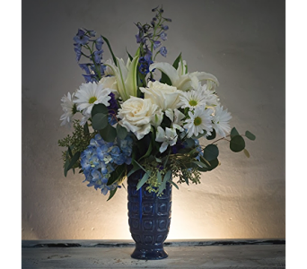 Shades of Blue  in Rogers AR, Shirley's Flower Studio