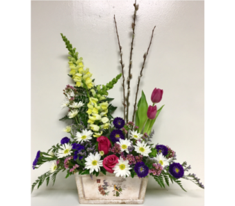 Season of Spring Floral Arrangement in Wyoming MI, Wyoming Stuyvesant Floral