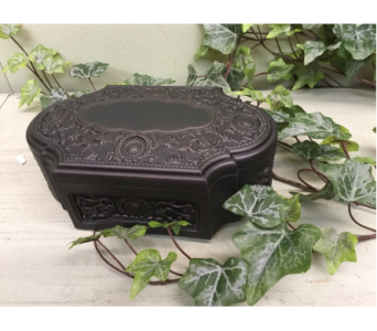 Antique Black Music Box in Owensboro KY, Welborn's Floral Company