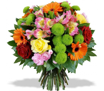 BE HAPPY BOUQUET in Etobicoke ON, Alana's Flowers & Gifts