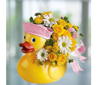 Ducky Delight - Girl in Indianapolis IN, George Thomas Florist