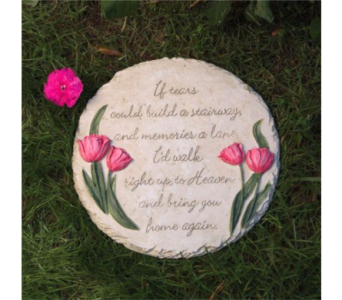 GARDEN STEPPING STONE in Columbia TN, Douglas White Florist