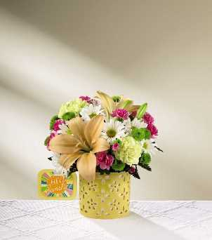 Brighter Than Bright Bouquet in Camp Hill and Harrisburg PA, Pealers Flowers