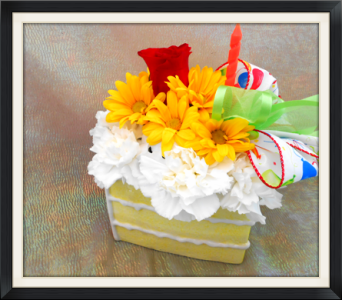 Happy Birthday Cake in Tyler TX, The Flower Box