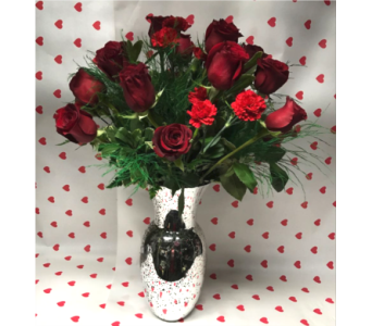 Black Romance in Irvington NJ, Jaeger Florist