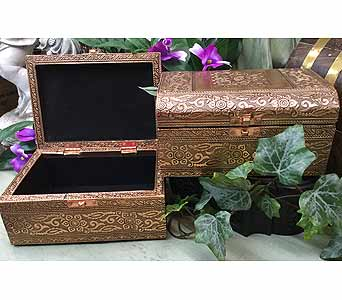 Copper Plated Memory Box in Owensboro KY, Welborn's Floral Company