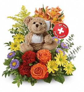 Get Better Bouquet by Teleflora in Northumberland PA, Graceful Blossoms