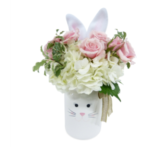 New baby flowers by bell flowers silver spring some bunny loves you in silver spring md bell flowers inc mightylinksfo
