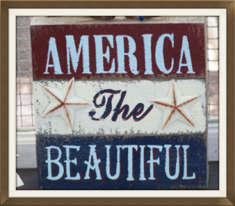 AMERICA THE BEAUTIFUL in Claremont NH, Colonial Florist
