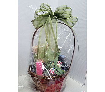 Spa Basket in Redding CA, Redding Florist