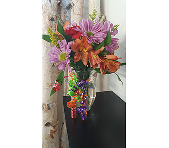 Party Pick-Me-Up Bouquet in Casper WY, Keefe's Flowers