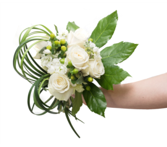White Clutch Bouquet in Little Rock AR, Tipton & Hurst, Inc.