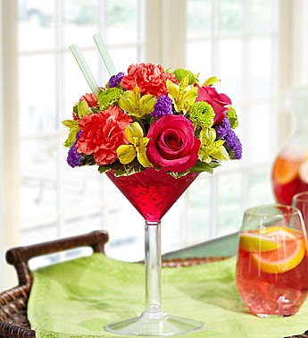 Sangria Bouquet in Port Charlotte FL, Punta Gorda Florist Inc.