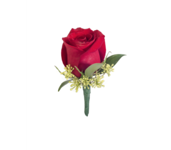 Rose Boutonniere in Little Rock AR, Tipton & Hurst, Inc.
