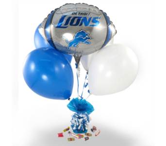 Lions Balloon Bouquet in Southfield MI, Thrifty Florist
