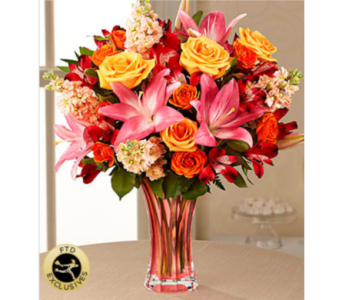 The FTD� Touch of Spring� Bouquet in Chelsea MI, Chelsea Village Flowers