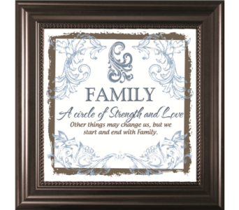 Family A circle of strength and love in Isanti MN, Elaine's Flowers & Gifts