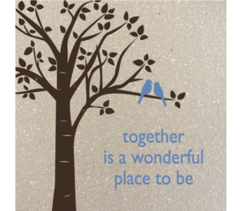 Together is a wonderful place to be in Isanti MN, Elaine's Flowers & Gifts
