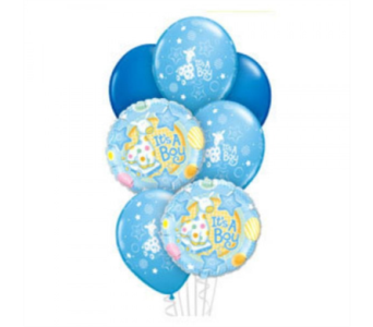 Baby Boy Balloon Bouquet in Toronto ON, The Flower Nook